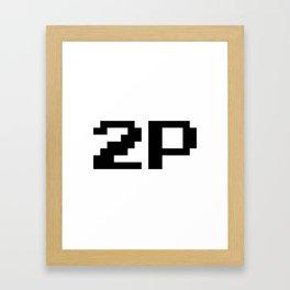 Player Two 2P Framed Art Print