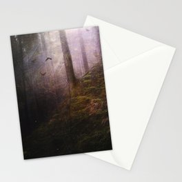 Travelling darkness Stationery Cards