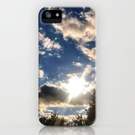 Heaven Sent iPhone Case