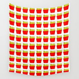 French fries -fries,patatoes,fast food,patato,frites,wedges,patata Wall Tapestry