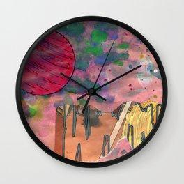 Io's Jovian Dawn Wall Clock