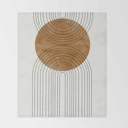 Abstract Flow Throw Blanket