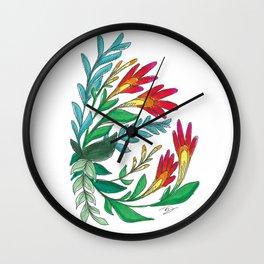 Imaginary Flower vol.1 Wall Clock