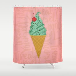 Treat Yourself Shower Curtain