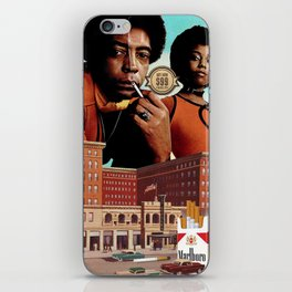 Roadblock of the Reds (AKA Deal With It) iPhone Skin