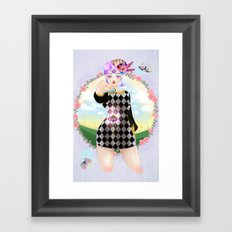 Which way to go? Framed Art Print