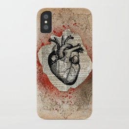 Corazón Sangriento iPhone Case
