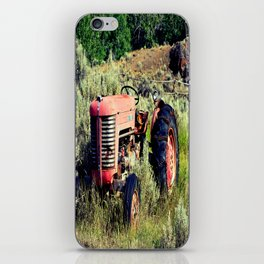Wanna Take A Ride On My Tractor? iPhone Skin
