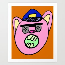 OfficerBacon Art Print