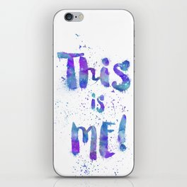 This is me! iPhone Skin