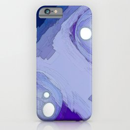Ghostly Duo On The Precipice iPhone Case
