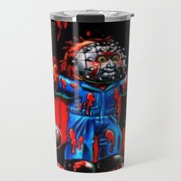 Freddy Of All Faces Travel Mug