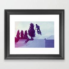 BMX Skatepark Framed Art Print
