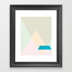 Cacho Shapes LXXXVIII Framed Art Print
