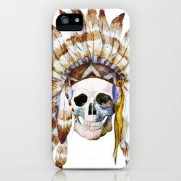 Skull 01 iPhone Case