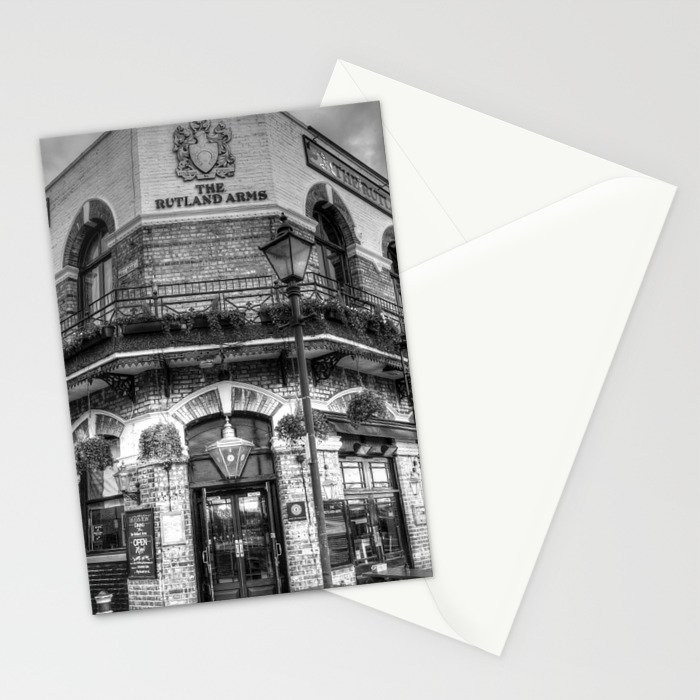 The Rutland Arms London Stationery Cards