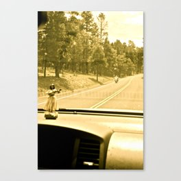 Lola on the Road, 003 Canvas Print
