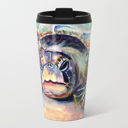Turtle at Poipu Beach Travel Mug