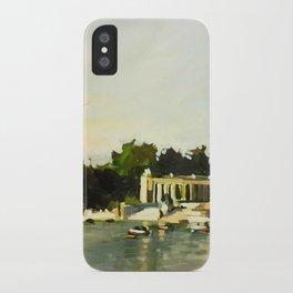 The Lake at Buen Retiro Park iPhone Case