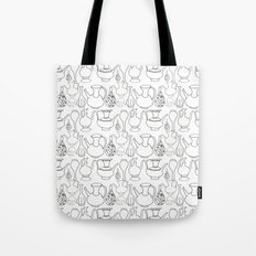 Persian Pots (b&w) Tote Bag