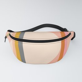 Abstraction_Mountains_Landscape_Minimalism_003 Fanny Pack