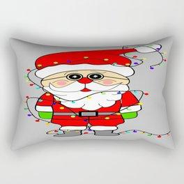 Silly Santa Rectangular Pillow
