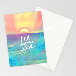 Me and the Sea Stationery Cards