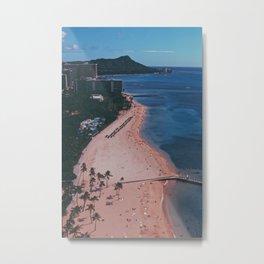In The Sky Over Hawaii Metal Print