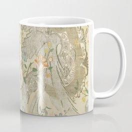 Floral print textile (1712-1731) Coffee Mug