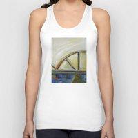 bridge Tank Tops featuring Bridge by Vilnis Klints