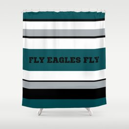 Fly Eagles Fly Philadelphia Shower Curtain