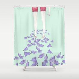 JACARANDAS Shower Curtain