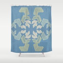 Frame Addict Shower Curtain
