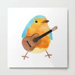 music bird Metal Print