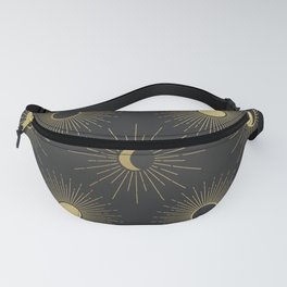 Moon and Sun Theme Fanny Pack