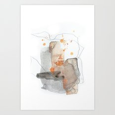Piece of Cheer 3 Art Print