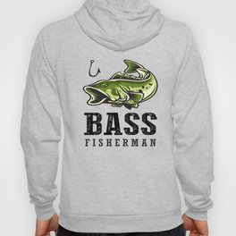 Loudmouth Sea Bass Fisherman's Fishing Fish Men's Fishermen Hoody