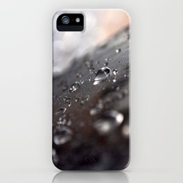drops water iPhone Case