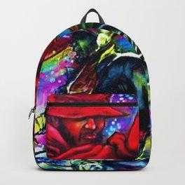 Harlem Hall of Fame Hip Hop/Rap Urban Art Mural Photograph Backpack