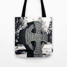 Celtic headstone Tote Bag