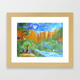 We Are All One Framed Art Print