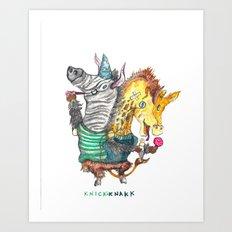 KnickKnakk Art Print