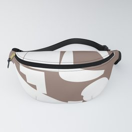Shape study #17 - Inside Out Collection Fanny Pack