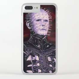 Hellraised Clear iPhone Case