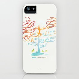 You heart iPhone Case