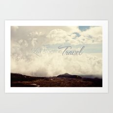 Live Breathe Travel - Mt Etna, Italy Art Print