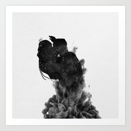 Heaven is just me and you. Art Print