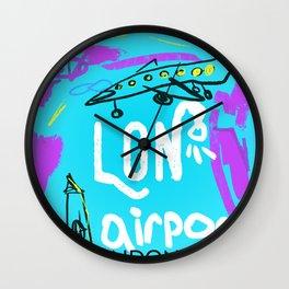 LON LONDON airports code Wall Clock