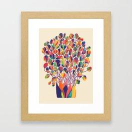felicitous Framed Art Print