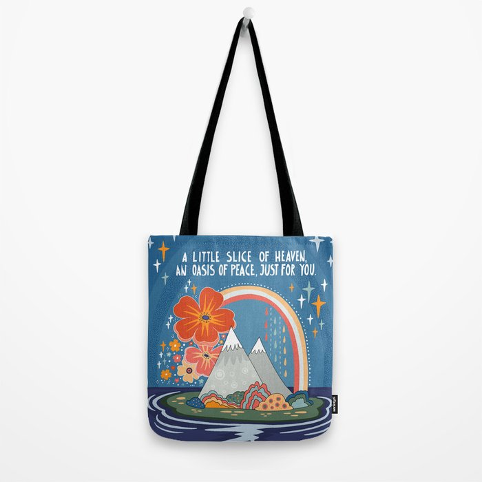 A little slice of heaven Tote Bag